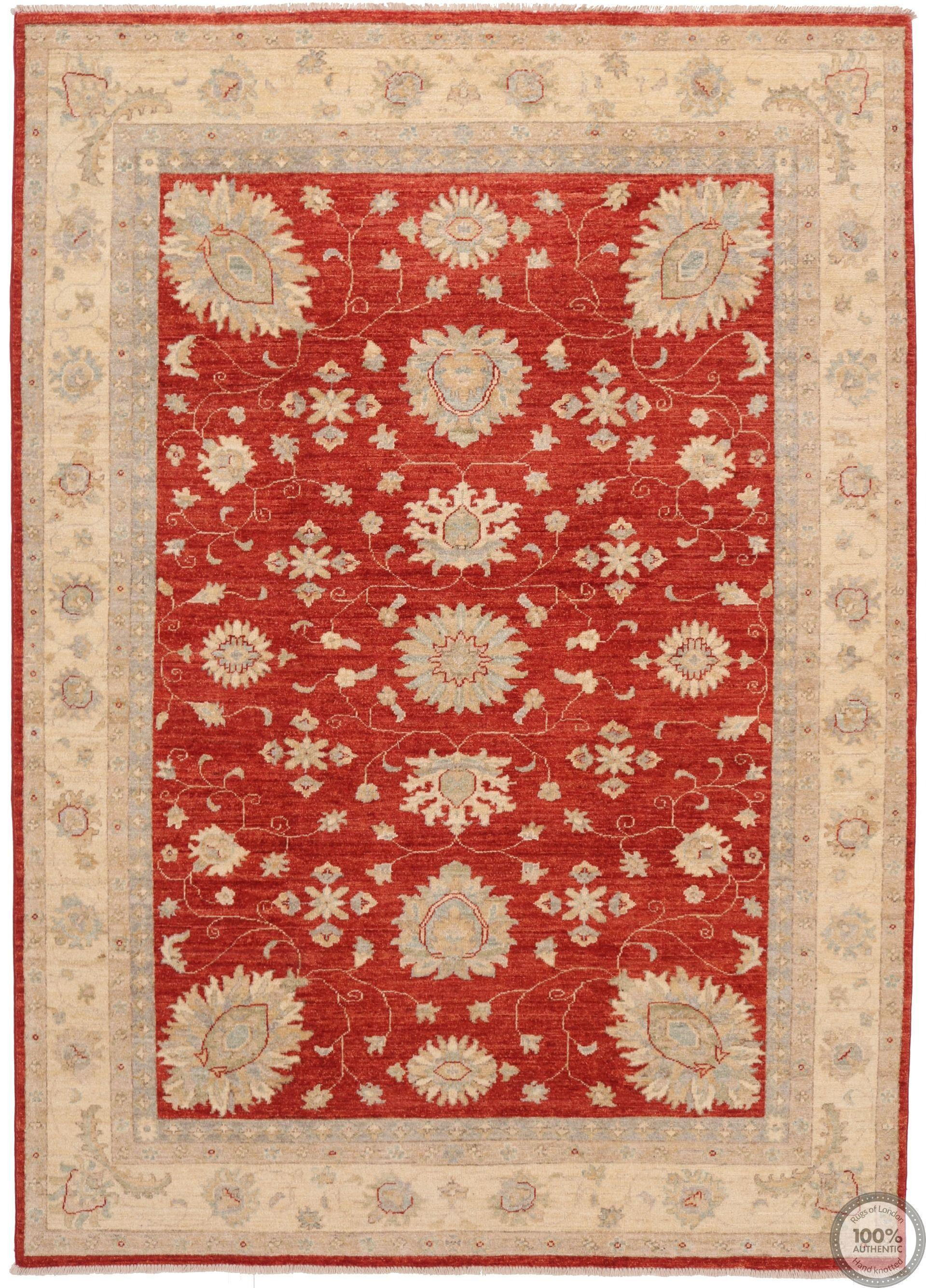 Garous / Ziegler design Rug in Red 8 x 5'6