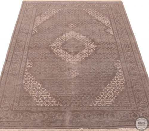 Persian Tabriz design Indian rug - 5'8 x 3'9