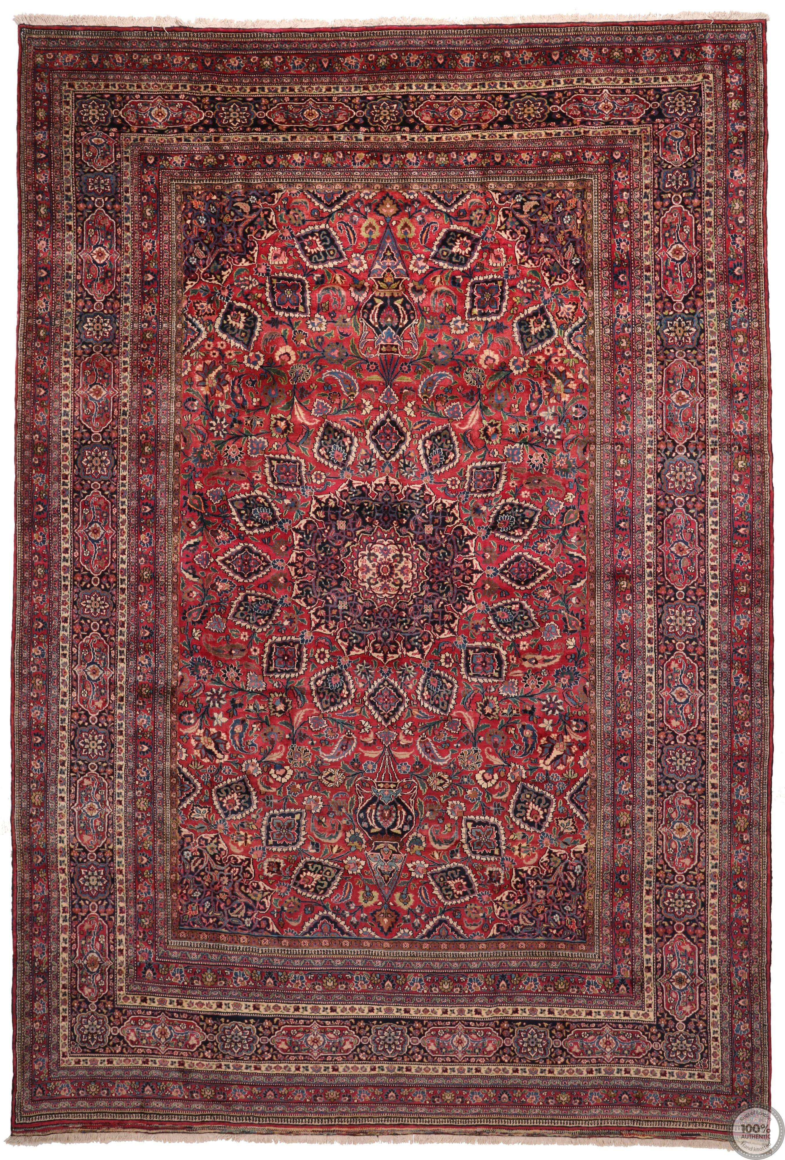 Persian Mashad rug