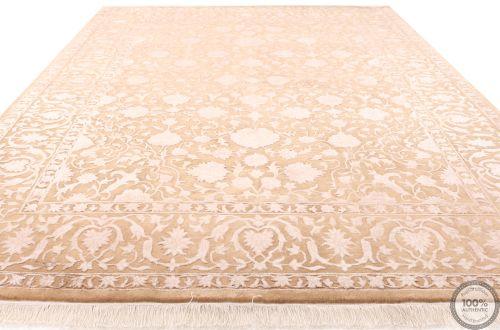 Keshan design contemporary Indian rug - 8 x 5'64