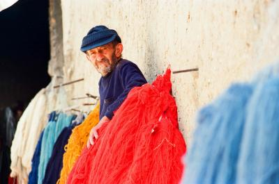 The Dyeing Process of a Rug